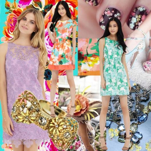 Ali Ro Floral Trend Board